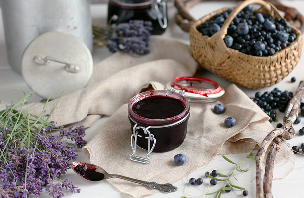 Blueberry Lavender Jam   stayforabite.com