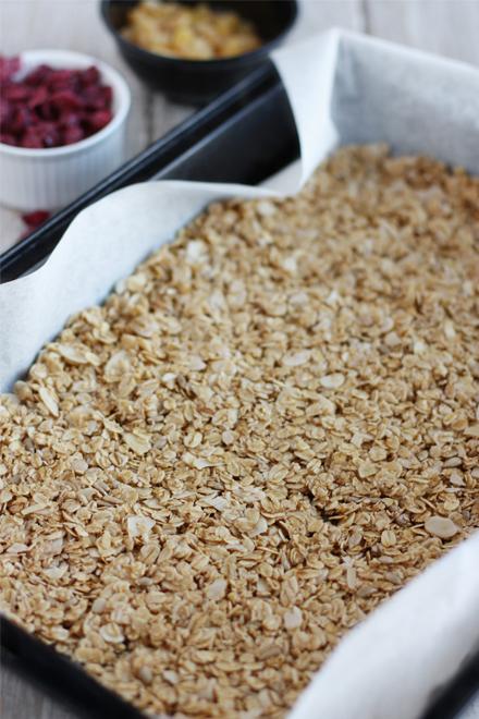 Cranberries Raisins Vanilla Granola | stayforabite.com
