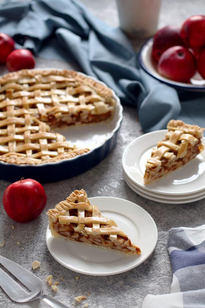Gluten free apple, pumpkin pie | stayforabite.com