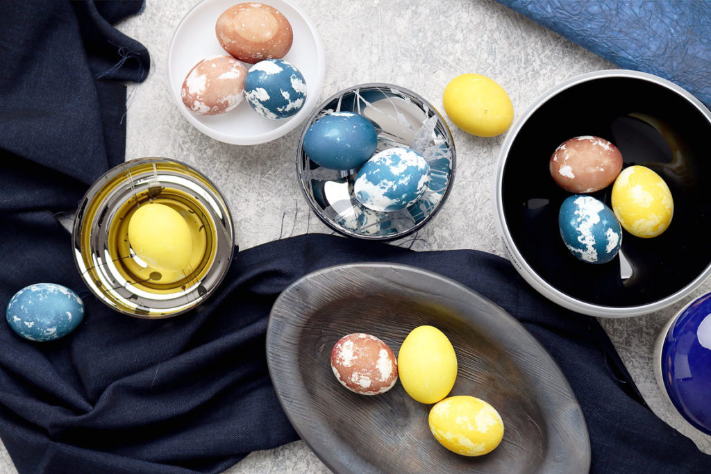 DYE Naturally Dyed Easter Eggs | stayforabite.com